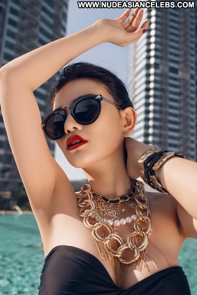 Thu Thuy The Viet Nam Personal Show Skinny Brunette Asian Hot Big
