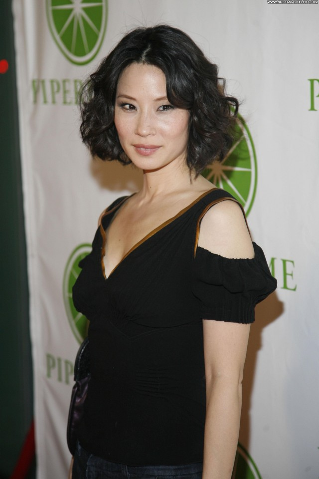 Lucy Liu Miscellaneous Small Tits Cute Sultry Celebrity Brunette