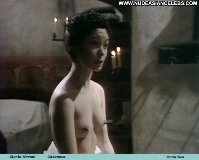 Zienia Merton Casanova Celebrity Medium Tits Asian Gorgeous Brunette
