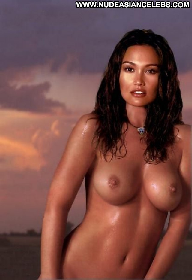 Tia Carrere Miscellaneous Brunette Playmate Cute Celebrity Medium
