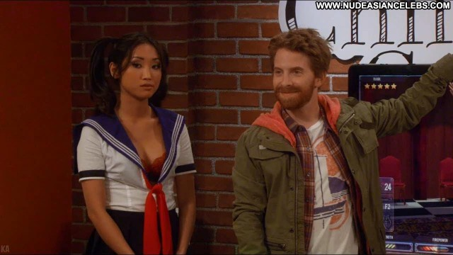 Brenda Song Dads Gorgeous Sexy Celebrity Brunette Nice Medium Tits