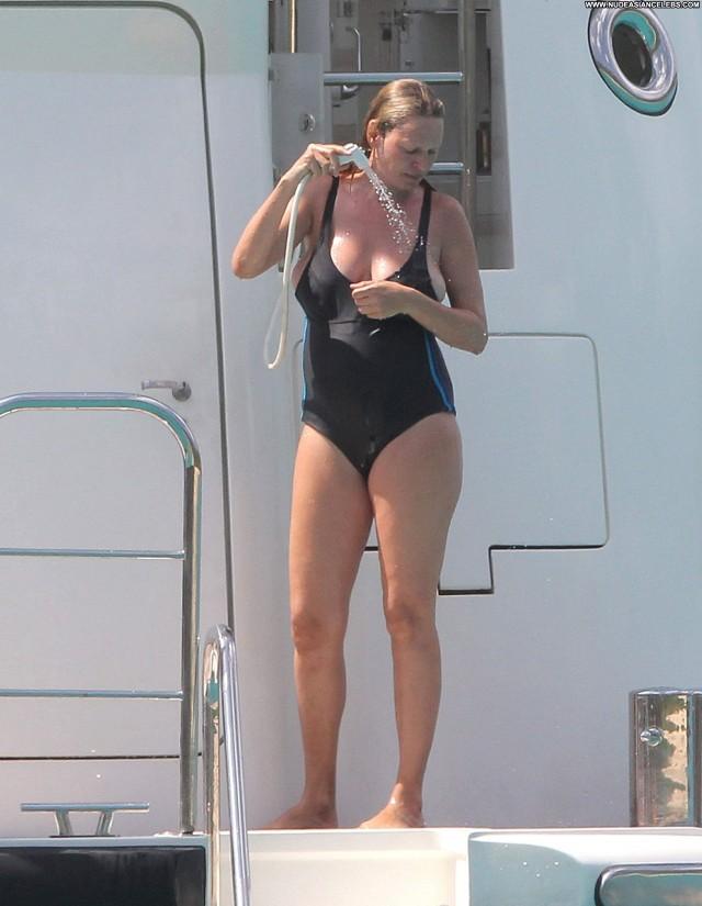 Uma Thurman St Barts Doll Celebrity Yacht Cute Sensual Sexy Ocean