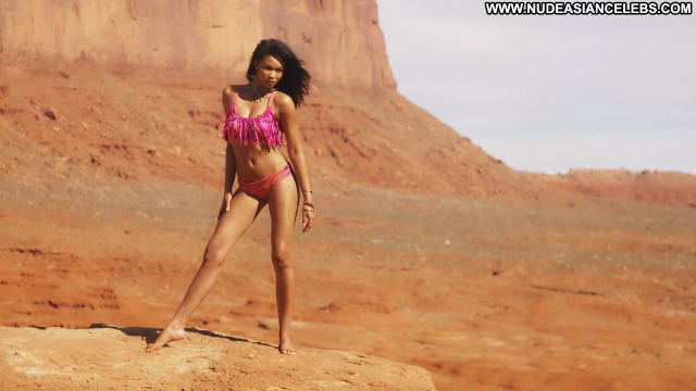 Chanel Iman Sports Illustrated Swimsuit Sports Doll Posing Hot