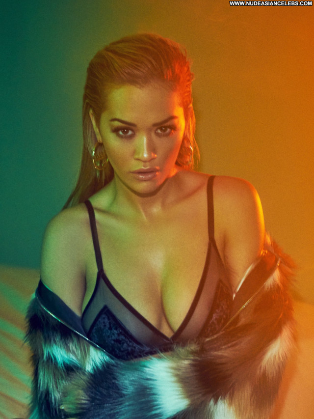 Rita Ora Vanity Fair Italy Beautiful Babe Lingerie Posing Hot