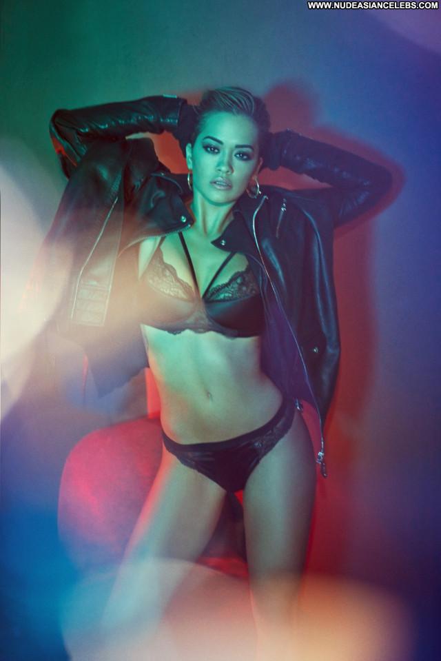 Rita Ora Vanity Fair Italy Posing Hot Magazine Photoshoot Lingerie