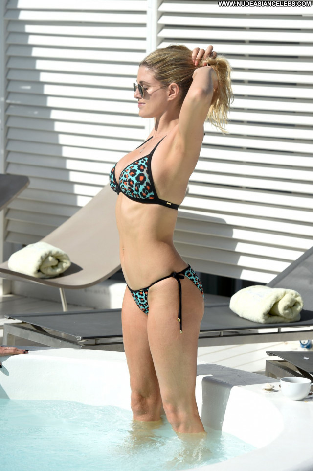 Ashley James No Source Babe Posing Hot Beautiful Bikini Celebrity