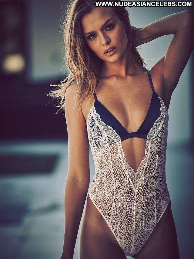 Josephine Skriver No Source Beautiful Bikini Lingerie Babe Posing Hot