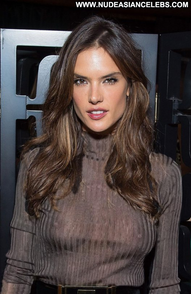Alessandra Ambrosio No Source Babe Beautiful See Through Brazil Party