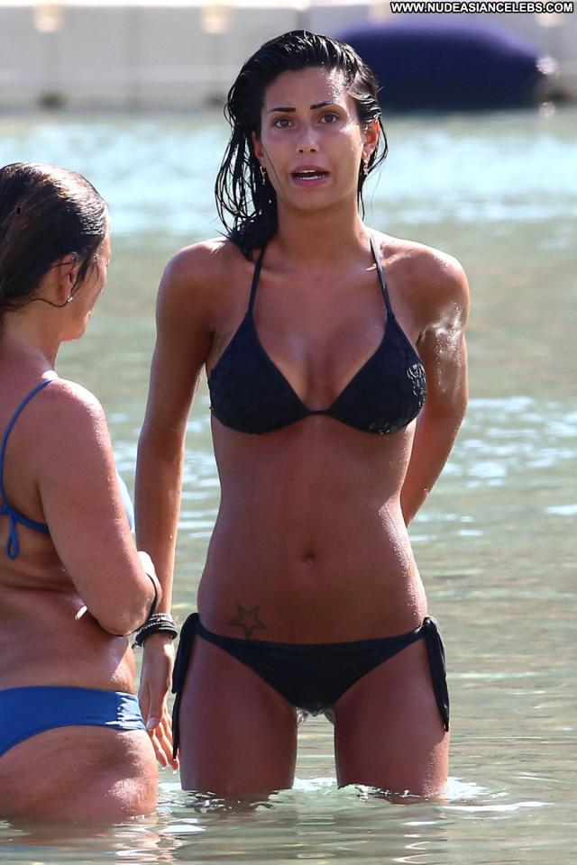 Federica Nargi The Beach Candids Bikini Posing Hot Sexy Beach