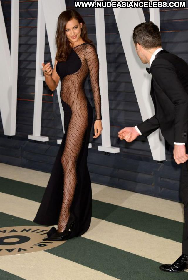 Irina Shayk Vanity Fair Beautiful Party Celebrity Babe Posing Hot