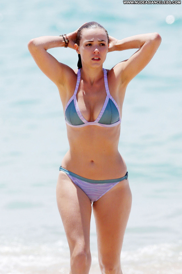 Demi Harman The Beach Posing Hot Babe Bikini Beautiful Sexy Celebrity