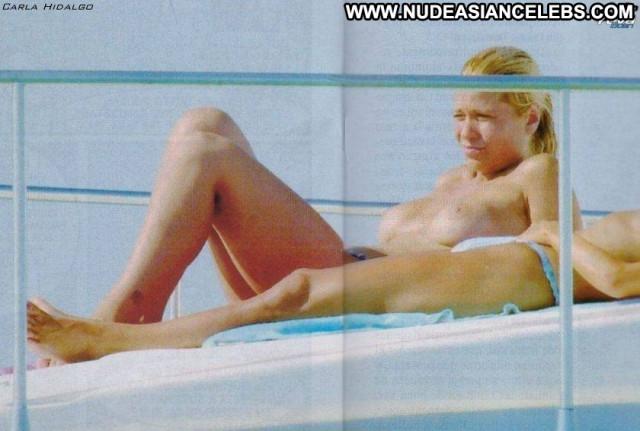 Carla Hidalgo No Source Boobs Topless Big Tits Babe Posing Hot
