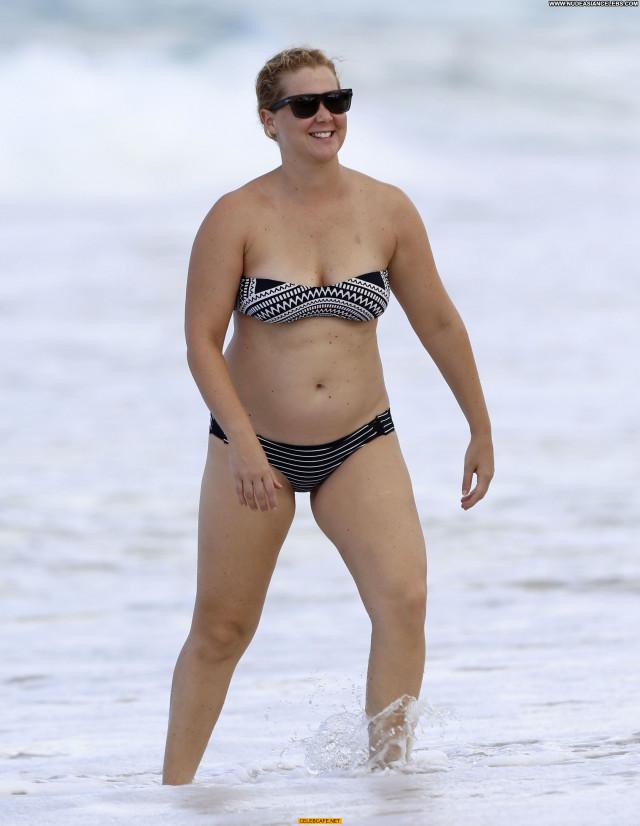 Amy Schumer No Source Bikini Hawaii Celebrity Posing Hot Babe Beach
