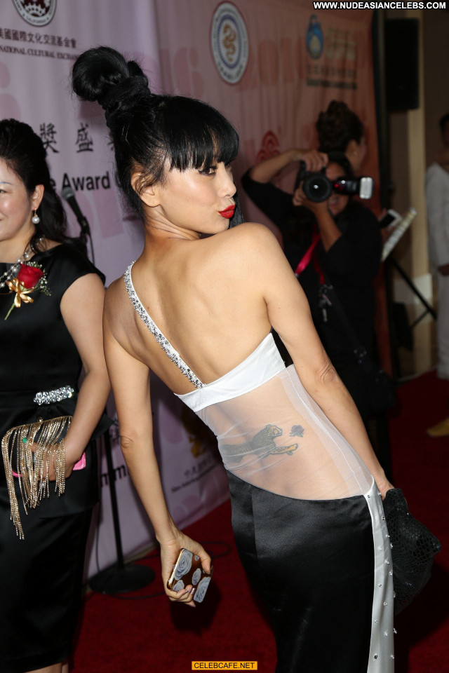 Bai Ling Beverly Hills  Posing Hot Celebrity Sex Babe International