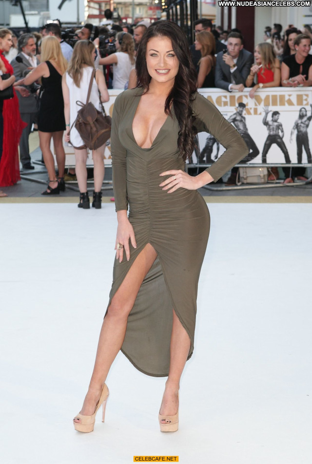 Jess Impiazzi Magic Mike  Beautiful Celebrity Cleavage Posing Hot Babe