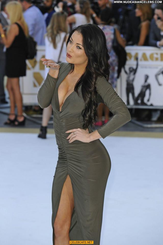 Jess Impiazzi Magic Mike Posing Hot Babe Cleavage Celebrity Beautiful