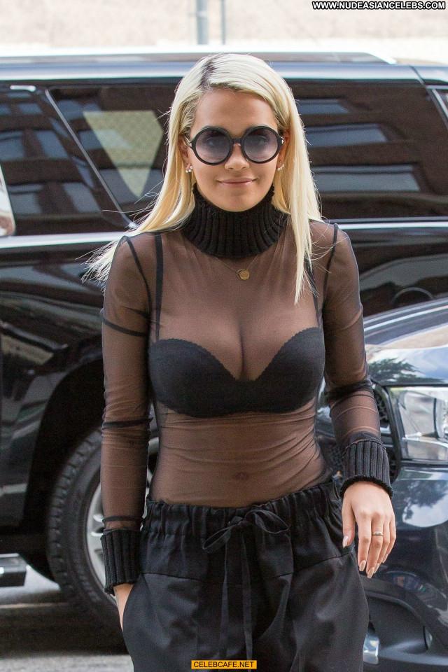 Rita Ora No Source Posing Hot Beautiful Cleavage Celebrity Babe