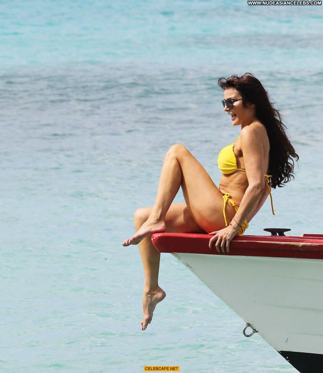 Lizzie Cundy No Source Babe Barbados Celebrity Beautiful Sex Bikini