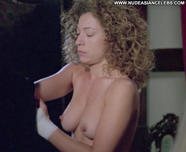 Alex Kingston Full Frontal Big Tits Celebrity Bus Beautiful Bar Joi