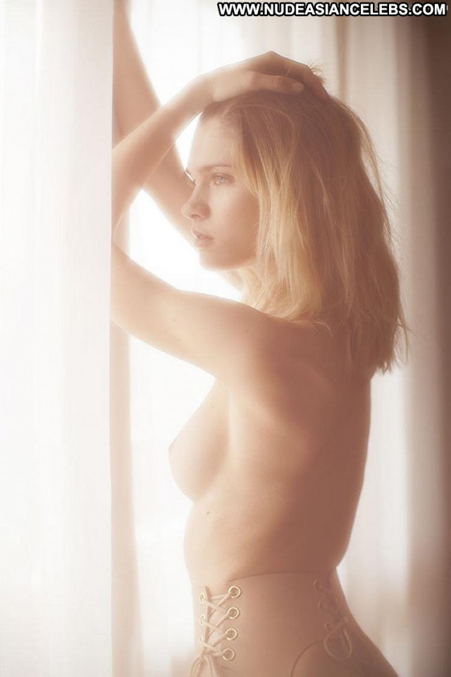 Eva Biechy Shining Through French Sexy Bedroom Posing Hot Celebrity