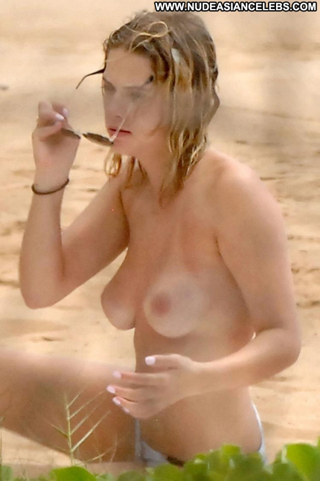 Ashley Benson Let It All Hang Out Toples Celebrity Beach Bra Breasts