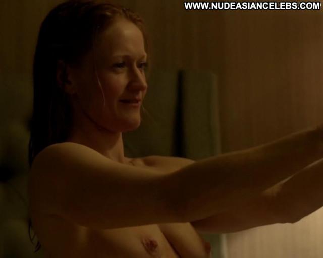 Paula Malcomson Ray Donovan Celebrity Topless Big Tits Close Up