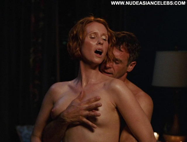 Cynthia Nixon Sex And The City Bed Bedroom Beautiful Posing Hot
