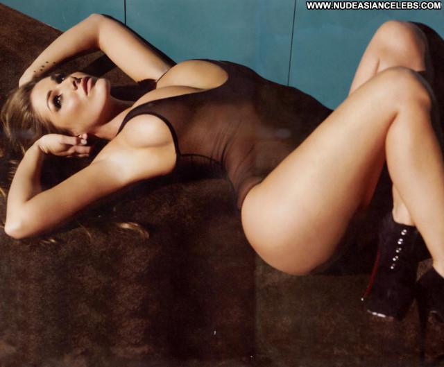 Lucy Pinder Photo Shoot Big Tits Posing Hot Nice Nipples Tits Black