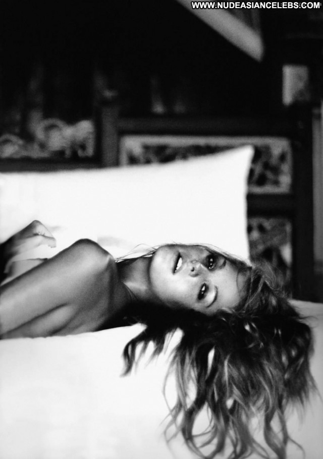 Erin Heatherton Black And White Celebrity Blonde Black Beautiful Nude