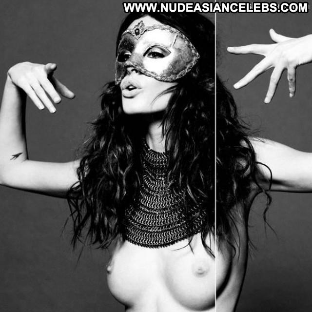 Nicole Trunfio Lovecat Magazine Beautiful Masked Ass Babe Breasts
