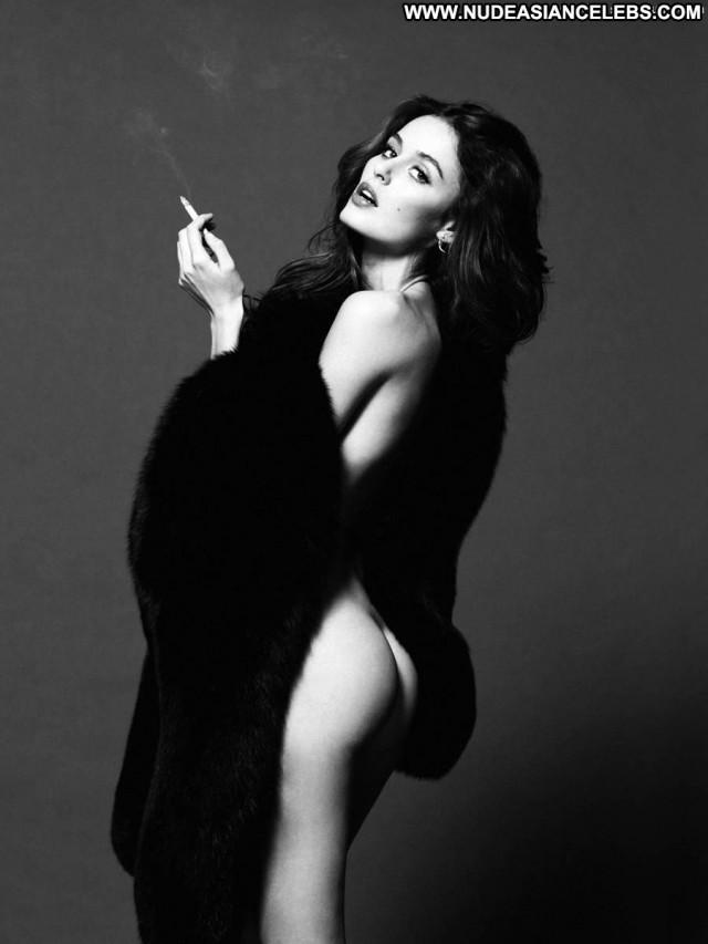 Nicole Trunfio Lovecat Magazine Model Topless Babe Magazine Big Tits