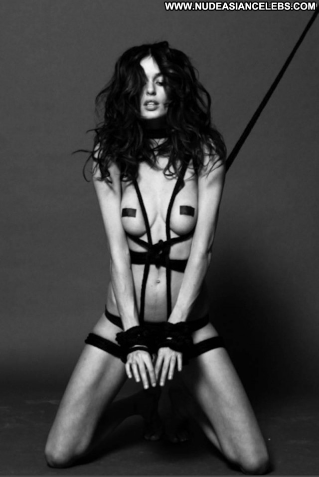 Nicole Trunfio Lovecat Magazine Tied Up Big Tits Bar Beautiful Model