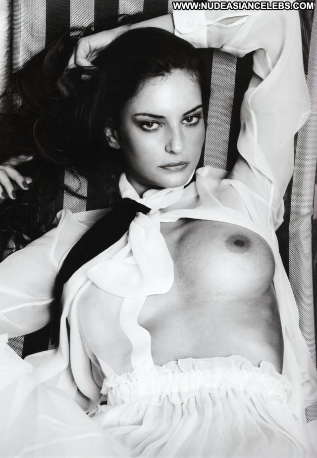 Reka Ebergenyi Full Frontal Black Smoking Tits Posing Hot Boots Babe