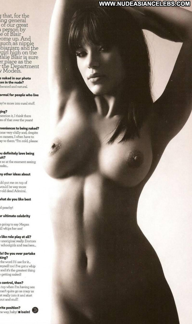 Natalie Blair Loaded Magazine Nude Posing Hot Toples Celebrity Nice
