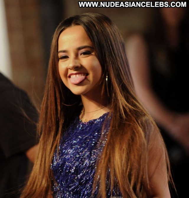 Becky G On The Road Babe Posing Hot Celebrity Concert Nyc Paparazzi