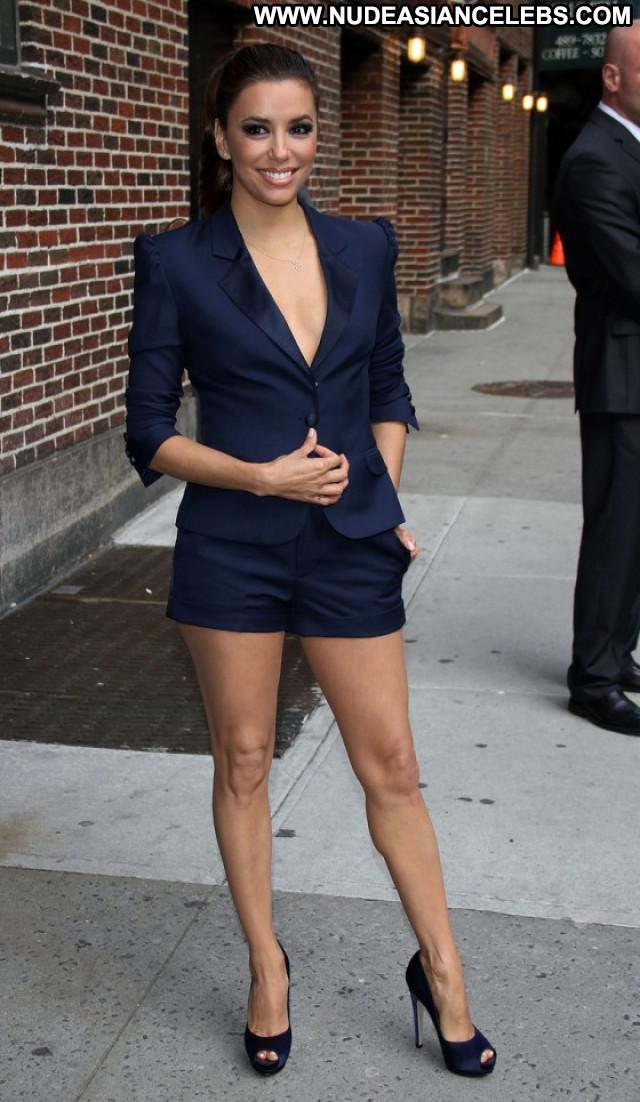 Eva Longoria The Late Show Paparazzi Candid Babe Posing Hot Beautiful