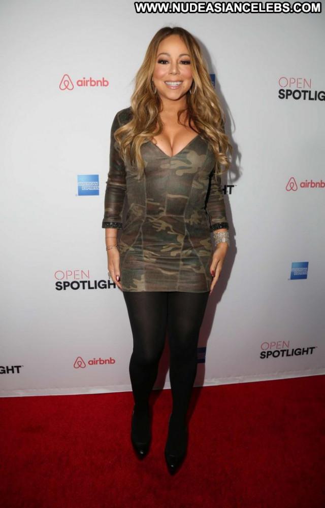 Mariah Carey Los Angeles Angel Babe Posing Hot Paparazzi Los Angeles
