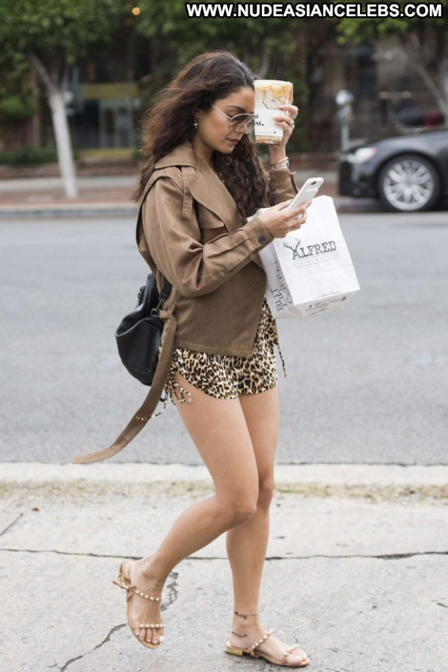 Vanessa Hudgens Los Angeles Babe Beautiful Paparazzi Los Angeles