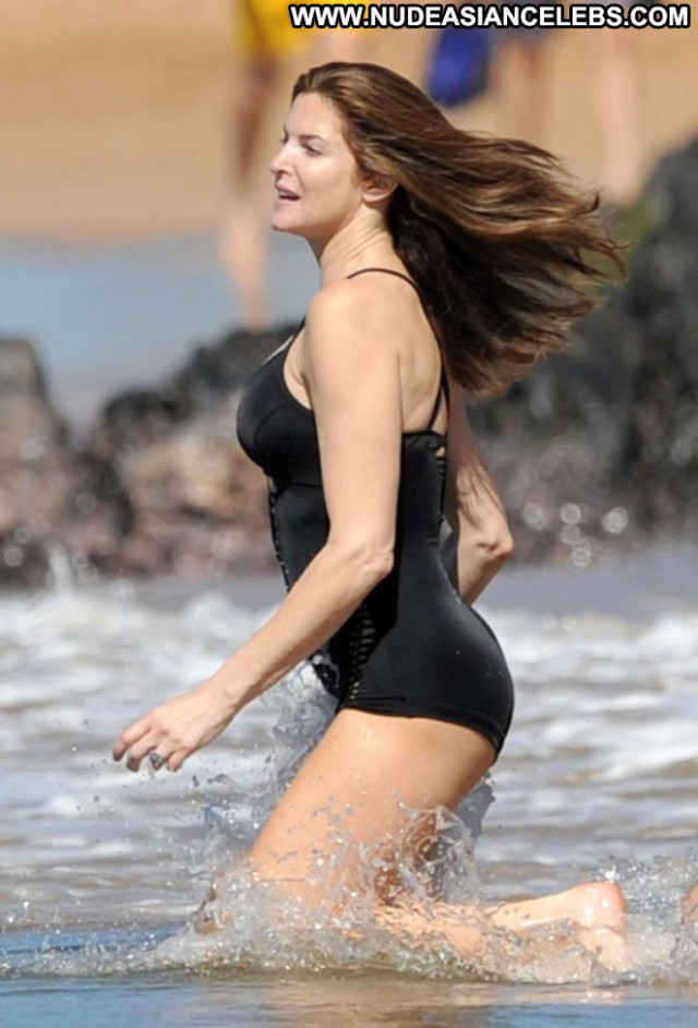 Stephanie Seymour No Source Swimsuit Beautiful Celebrity Paparazzi