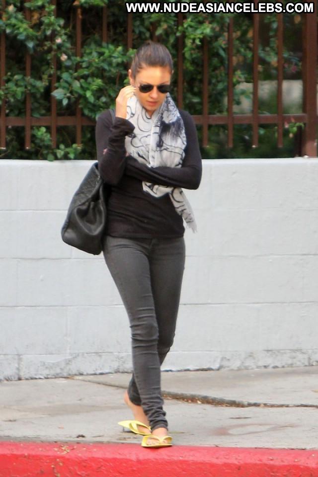 Mila Kunis West Hollywood Candid Hollywood Pants Celebrity Babe