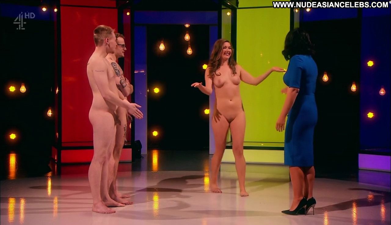 Rebecca Draper Naked Attraction Celebrity Brunette Singer ...