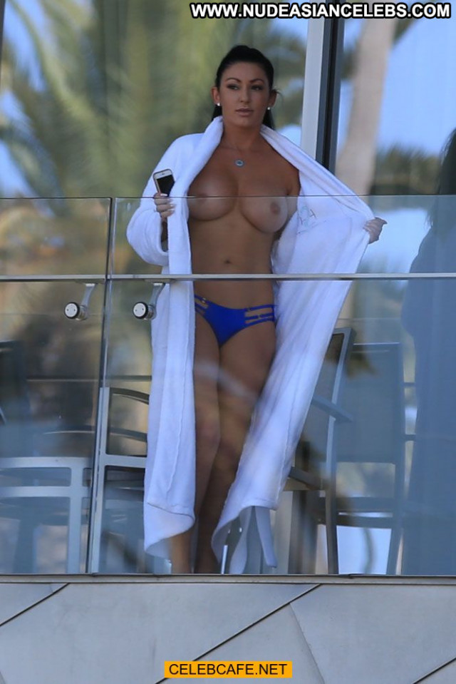 Heather Marianna No Source  Babe Topless Beautiful Toples Balcony