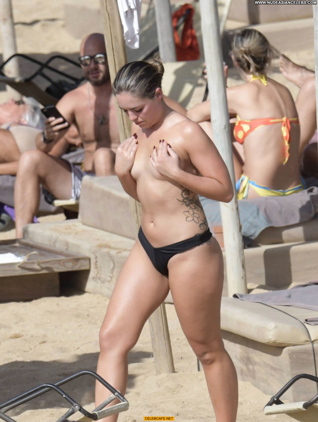 Olympia Valance No Source Beach Babe Posing Hot Toples Beautiful