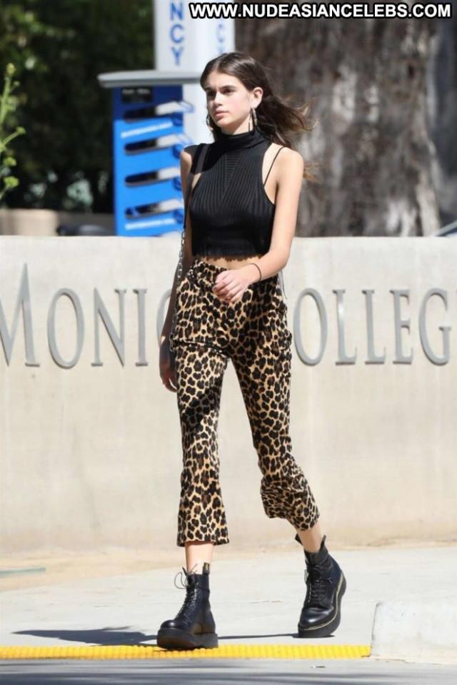 Kaia Gerber No Source Beautiful Celebrity Posing Hot Paparazzi Babe