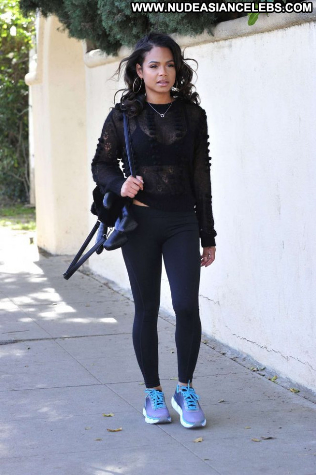 Christina Milian Los Angeles Angel Celebrity Beautiful Babe Posing