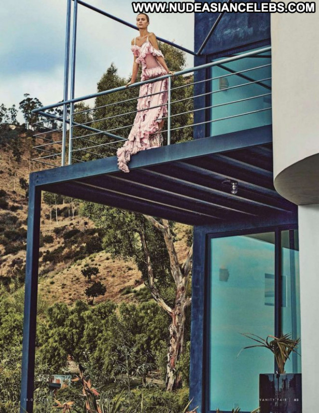 Alicia Vikander Vanity Fair Italy Paparazzi Posing Hot Italy Babe
