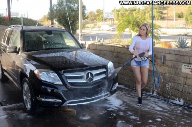 Celebrity No Source  Hot Boobs California Beautiful Videos Car Wash
