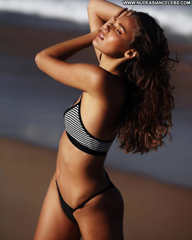 Natalie Jayne Roser No Source Winter Beautiful Swimsuit Mexico Posing