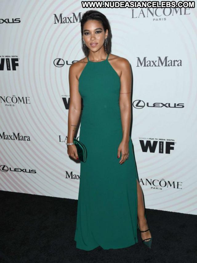 Alexandra Shipp Women In Film Awards Los Angeles Posing Hot Beautiful