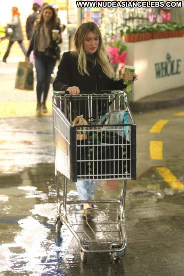 Hilary Duff Beverly Hills Paparazzi Babe Beautiful Shopping Celebrity